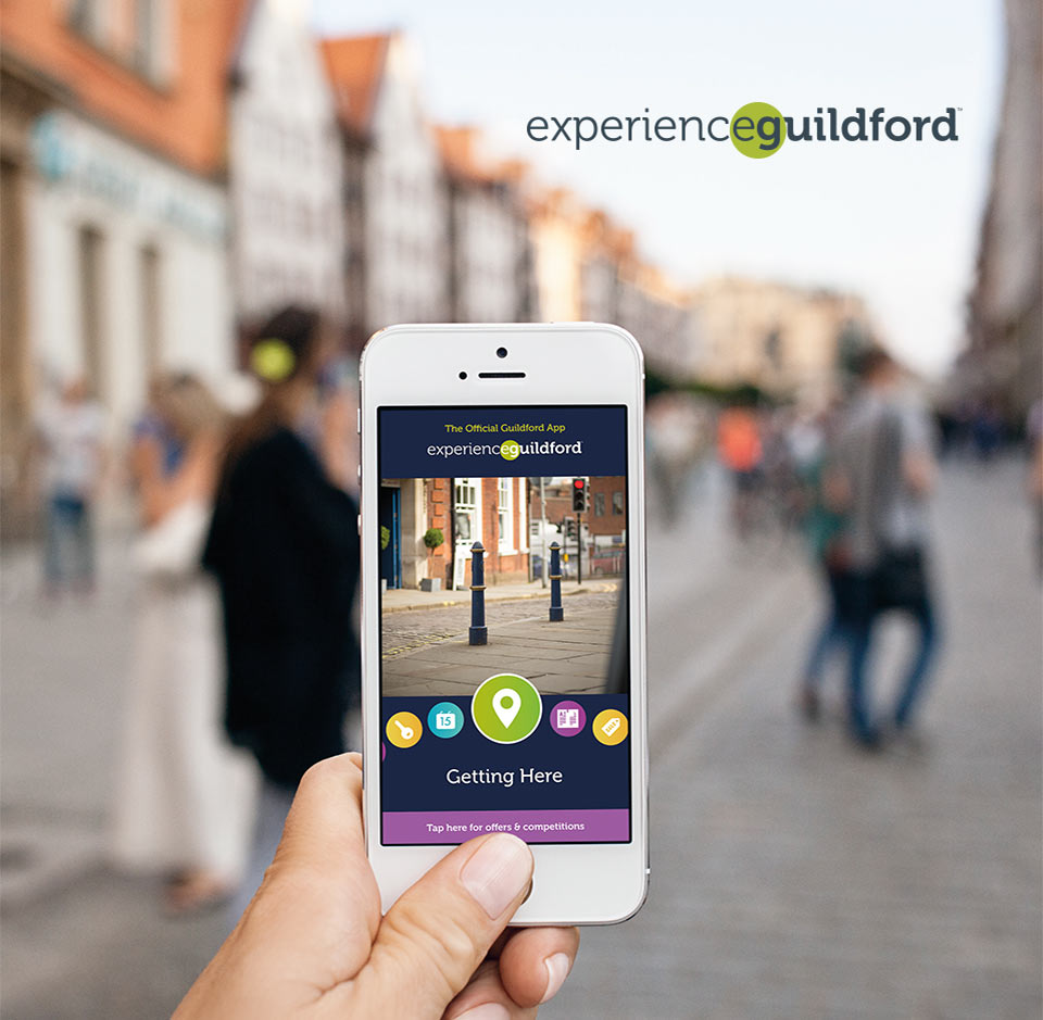 experience guildford app